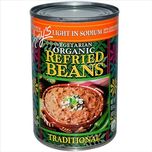Amy'S, Organic Traditional Refried Beans