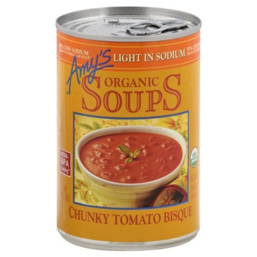 Organic Soups, Chunky Tomato Bisque