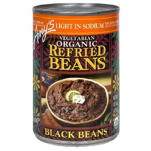 Amy'S, Vegetarian Organic Refried Black Beans