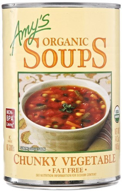 Amy's Organic Chunky Vegetable Soups