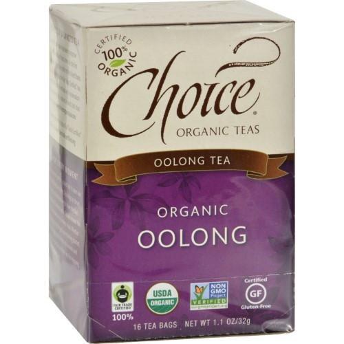 Choice - Tea - Organic Oolong 16.00 Ct