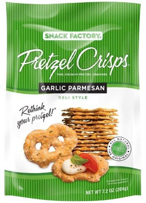 Garlic Parmesan Pretzel Chips