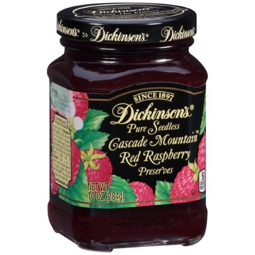 Dickinson's Seedless Red Raspberry Preserves