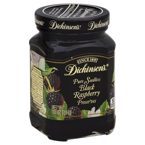 Dickinson - Seedless Black Raspberry Preserves - Case Of 6 - 10 Oz