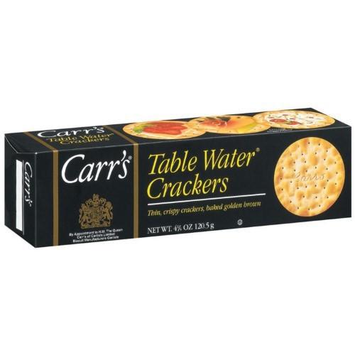 Carr's Crackers Plain 4.25Oz