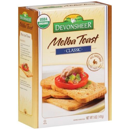 Devonsheer Melba Toast Classic 5 Oz. Box