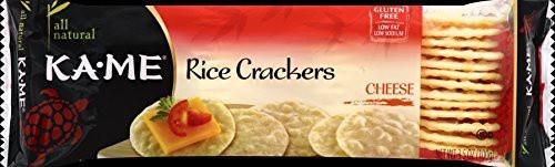Rice Crackers Cheese