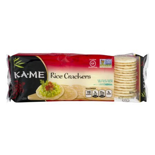 Ka-Me Wasabi Rice Crackers, 3.5 Ounce Packages (Pack Of 12)
