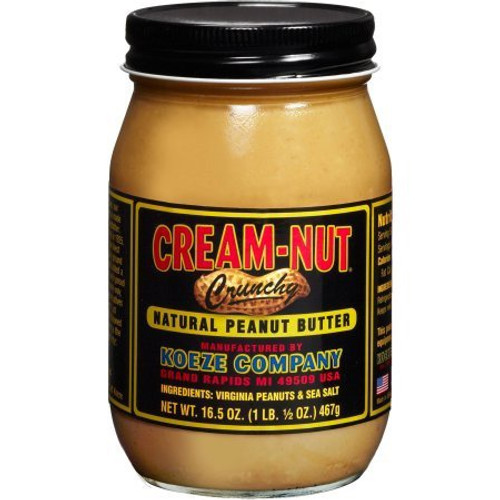 Cream-Nut Crunchy Natural Peanut Butter