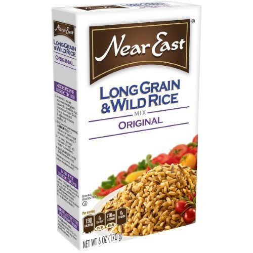 Near East Original Long Grain & Wild Rice Mix 6 Ounce Box