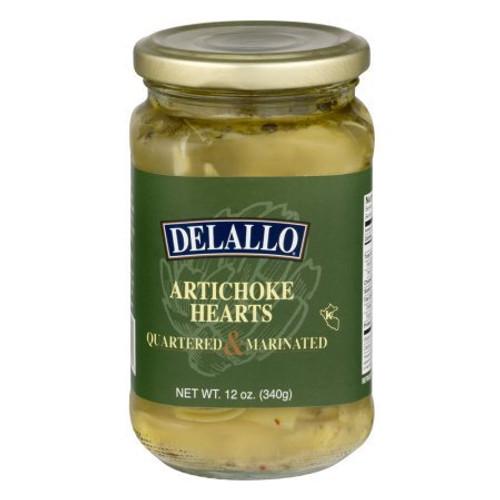 Delallo, Quartered & Marinated Artichoke Hearts