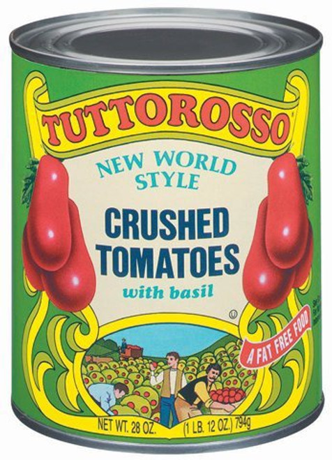 Crushed Tomatoes W/ Basil, 28 oz