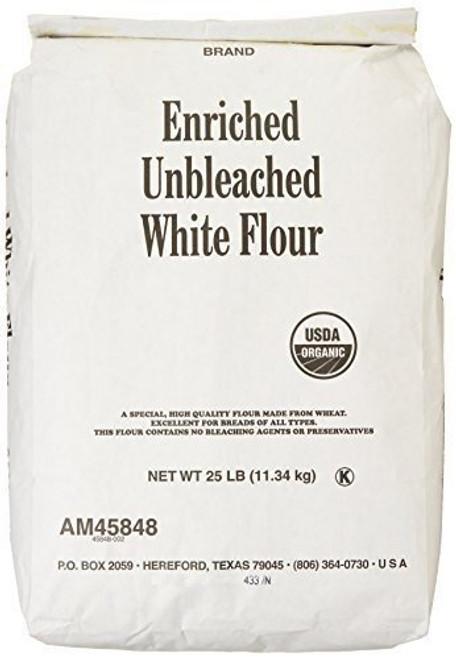 Arrowhead Mills Flour White Unbleach Org 25 Lb (Pack Of 1)