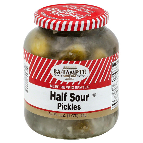 Ba-Tampte, Half Sour Pickles