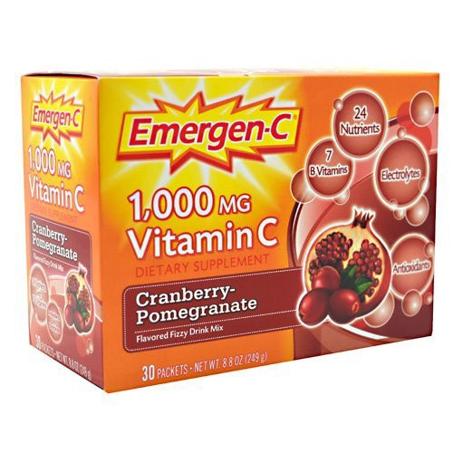Alacer - Emergen C - Cranberry Pomegranate 30.00 Ct