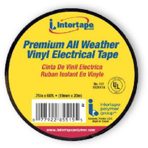 602 0.75-Inch By 60-Feet Economy Grade Electrical Tape, Blac