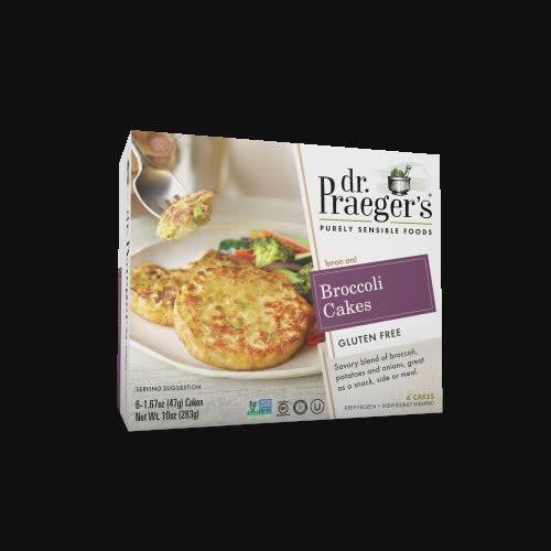 Dr. Praeger'S Sensible Foods, Broccoli Cakes