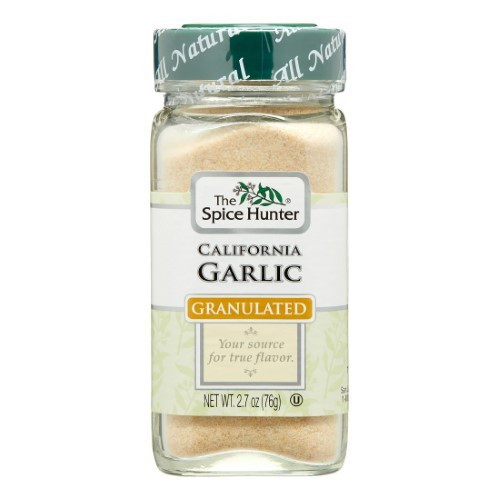 Spice Hunter B05553 Spice Hunter Granulated Garlic -6X2. 7 Oz