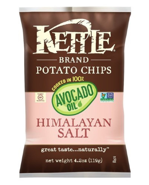 Avocado Oil, Himalayan Salt Potato Chips