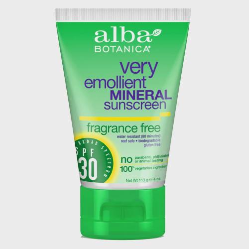 Alba Botanica Mineral Sunscreen SPF 30 Cream