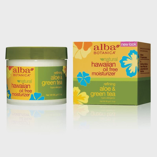 Alba Botanica Hawaiian Oil Free Moisturizer - Refining Aloe & Green Tea