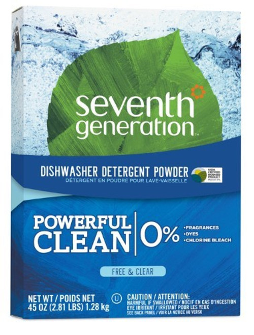 Automatic Free And Clear Dishwasher Powder 45 Oz.