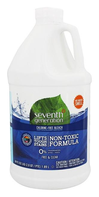 Seventh Generation Bleach Chlorine Free 64 Oz