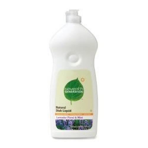 Seventh Generation Lavender Floral & Mint Liquid Hand Dish Soap - 25Oz
