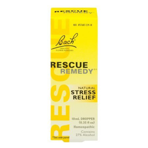 Rescue Remedy Natural Stress Relief Dropper, 10 Ml