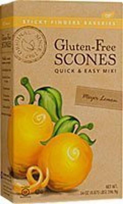 Sticky Fingers Bakeries Gluten-Free Meyer Lemon Scone Mix, 14 Ounces