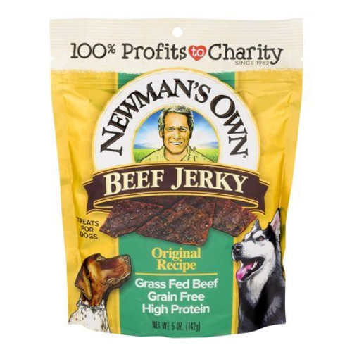 Newman's Own Beef Jerky Dog Treat - 5Oz