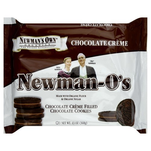 Newman's Own, Newman-O's, Chocolate Creme Filled Chocolate Cookies,