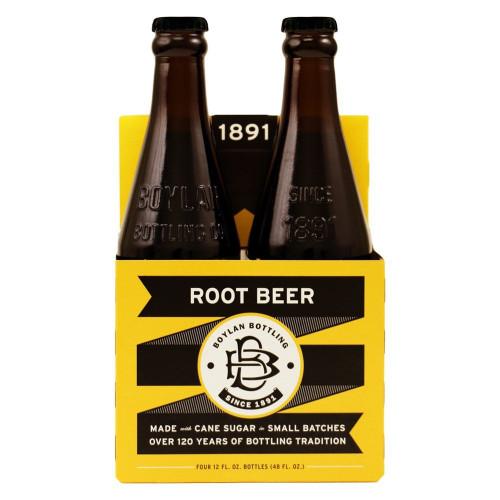 Boylan Root Beer - 4Pk/12 Fl Oz Glass Bottles