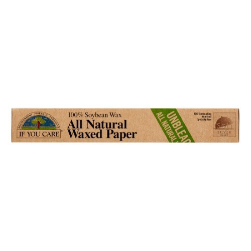 Soybean Wax Paper, Unbleached, 75 Sq Ft