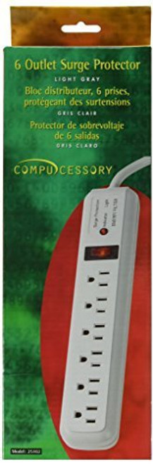 Surge Protector, 6-Outlet Strip
