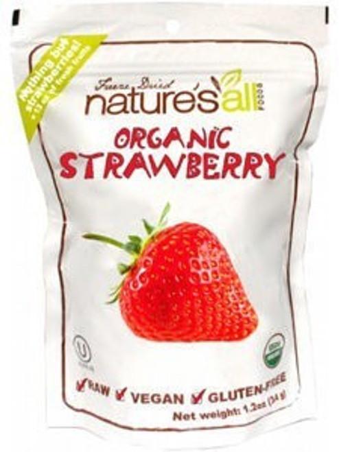 Freeze-Dried Strawberries ORG