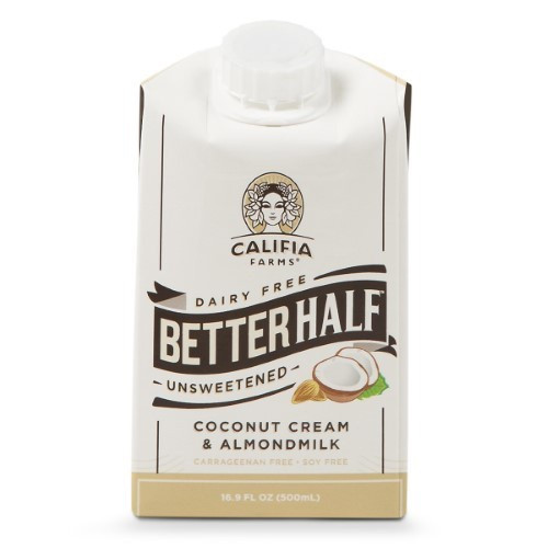 Unsweetened Coconut Cream & Almondmilk, Unsweetened