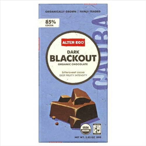 Deep Dark Blackout Organic Chocolate