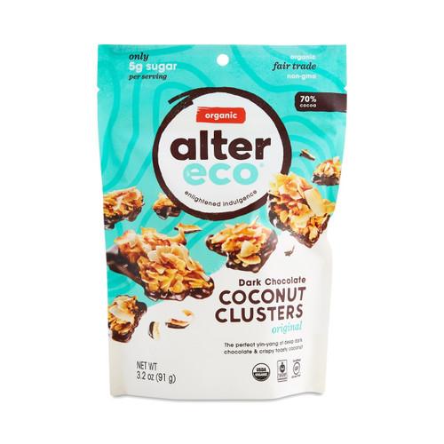 Original Dark Chocolate Coconut Clusters, Original Dark Chocolate