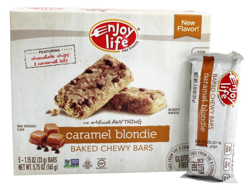 Caramel Blondie Soft Baked Chewy Bars