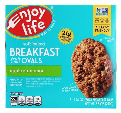 Apple Cinnamon Breakfast Fruit & Oat Ovals GF