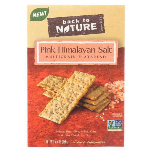 Multigrain Flatbread w/ Pink Himalayan Salt