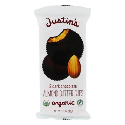 Dark Chocolate Organic Almond Butter Cups, Dark Chocolate