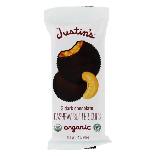 Organic Cashew Butter Cups, Dark Chocolate
