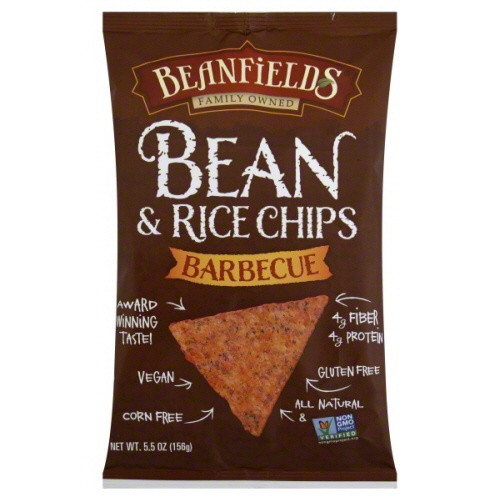 Barbecue Bean & Rice Chips