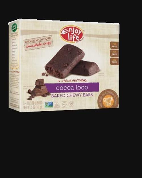 Cocoa Loco Chewy Bars