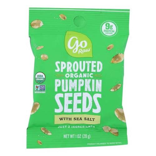 Sprouted Pumpkin Seed w/ Sea Salt - 1 Oz ORG