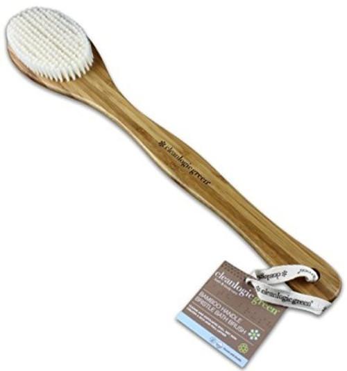 C.A.R.E. By Cleanlogic Bamboo Bristle Bath Brush