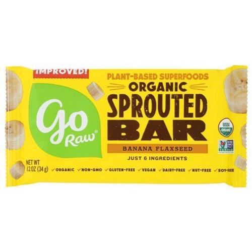 Organic Banana Flaxseed Sprouted Bar