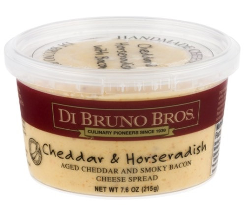 Di Bruno Bacon & Horseradish Cheese Spread, 7.6 Oz
